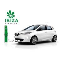 Ibiza Green Car